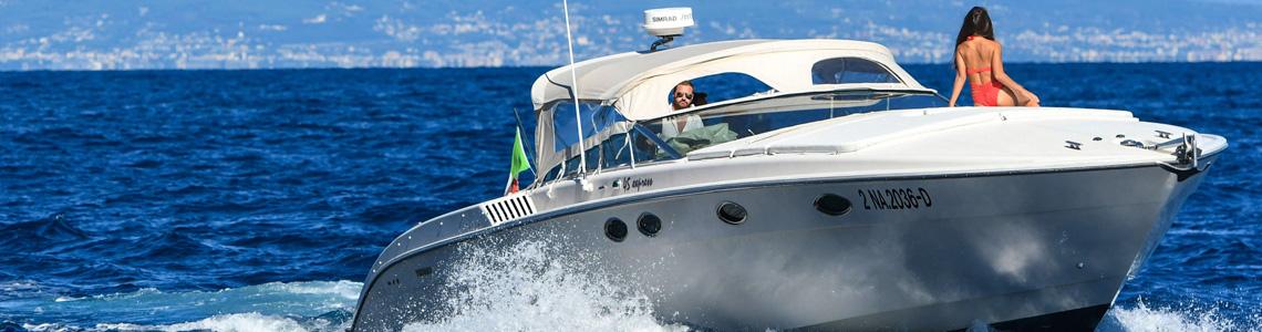 Hire boat Capri Naples Italy